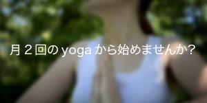 yoga 色濃く